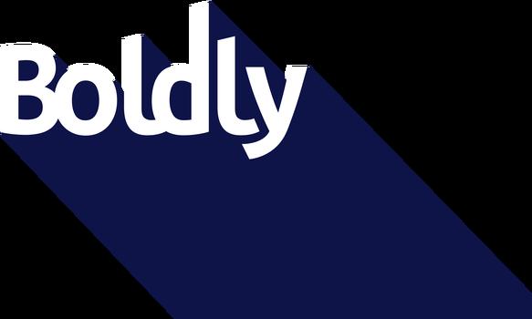 Boldly, présenté par l'AMC logo