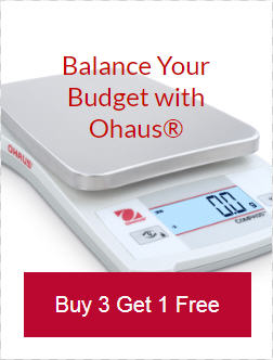 Ohaus lab scales and balances