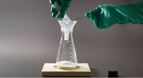 Chill out in the lab with this free endothermic freezer flask activity