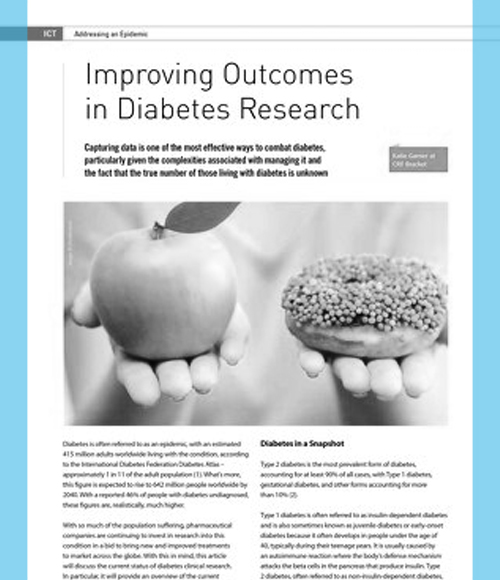 Improving Outcomes in Diabetes Research