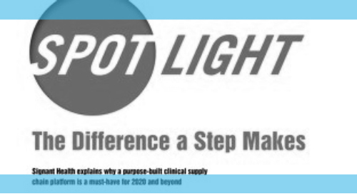 The Difference a Step Makes - International Clinical Trials