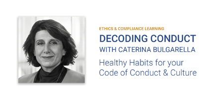 Caterina Bulgarella, Decoding Conduct