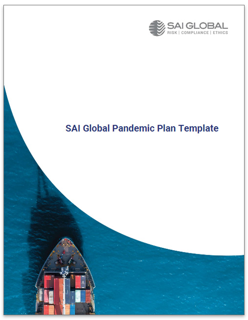 SAI Global Pandemic Plan Template