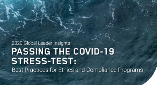 Global Leader Insights: Best Practices for Ethics and Compliance Programs
