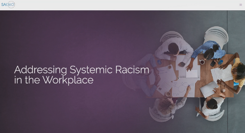 Addressing Systemic Racism in the Workplace Training Course