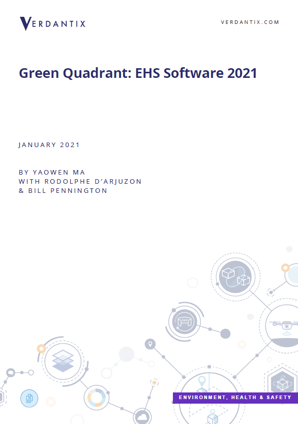 Verdantix Green Quadrant: EHS Software 2021 Report