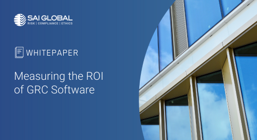 Measuring the ROI of GRC Software