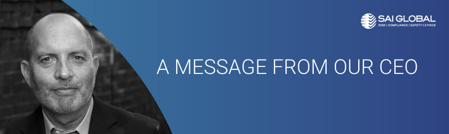 Message from CEO Peter Granat