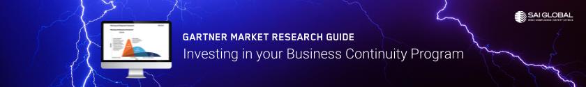 Gartner 2021 Business Continuity Market Research Guide