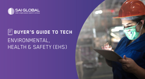 Buyer's Guide to EHS Software: A Safer, More Mindful Way Forward