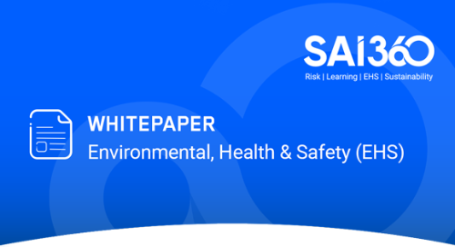 Beyond Compliance: A Roadmap for Enhancing EHS Management
