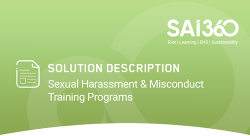 Simplifying Your Sexual Harassment and Misconduct Training Program