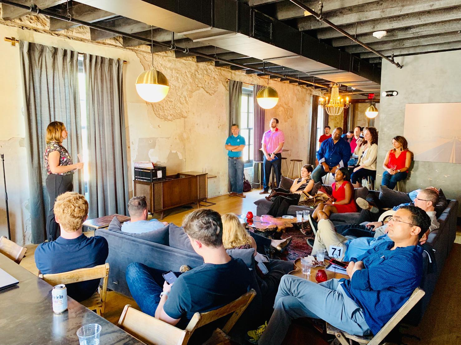 Personiv Startup event