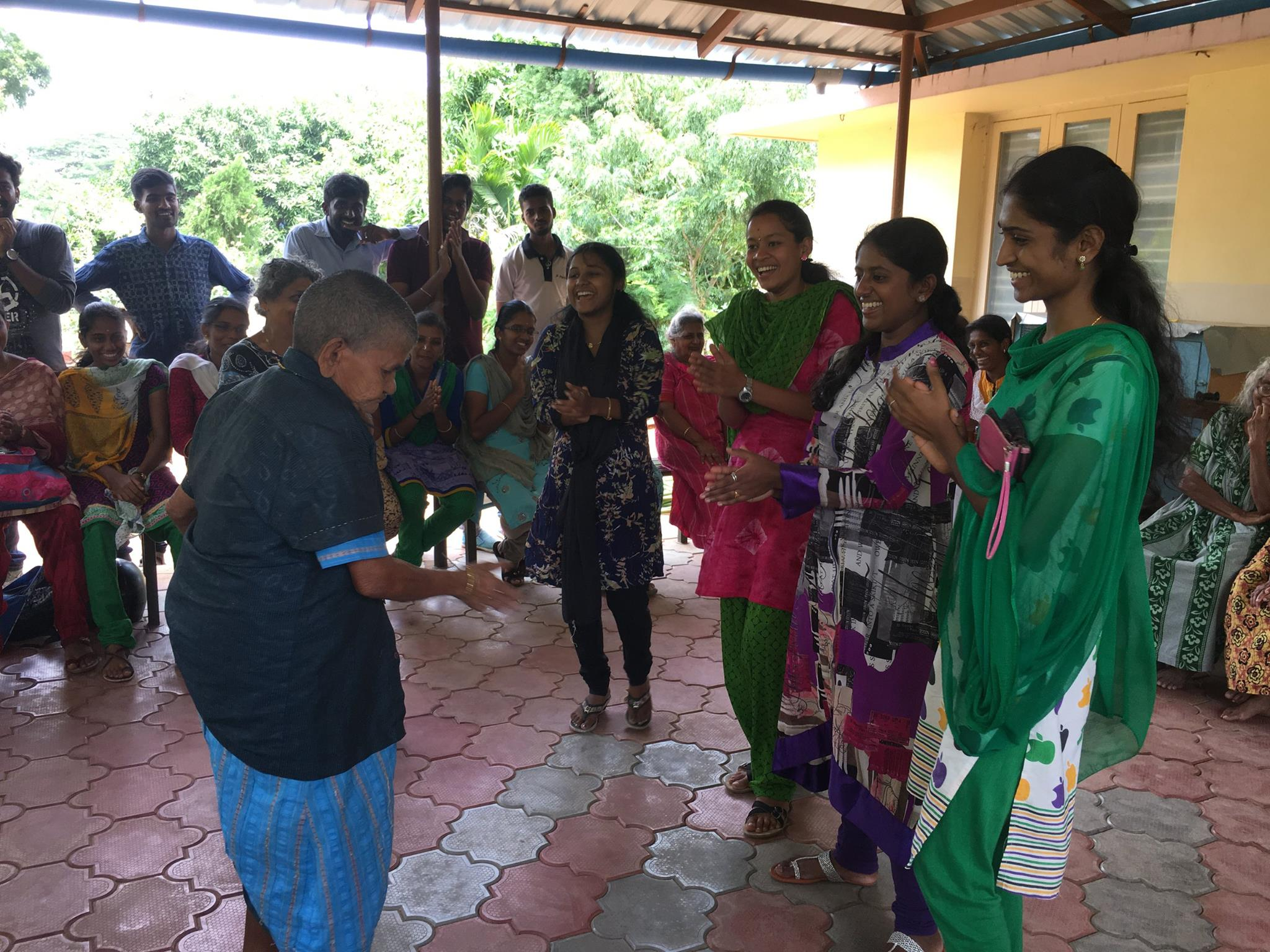 Personiv Coimbatore Visits Home for Aged Women
