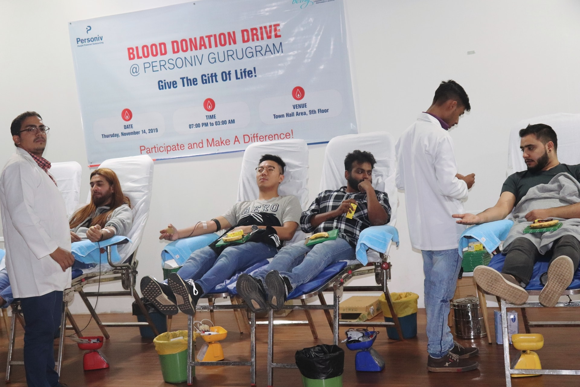 Personiv Blood Donation Drive