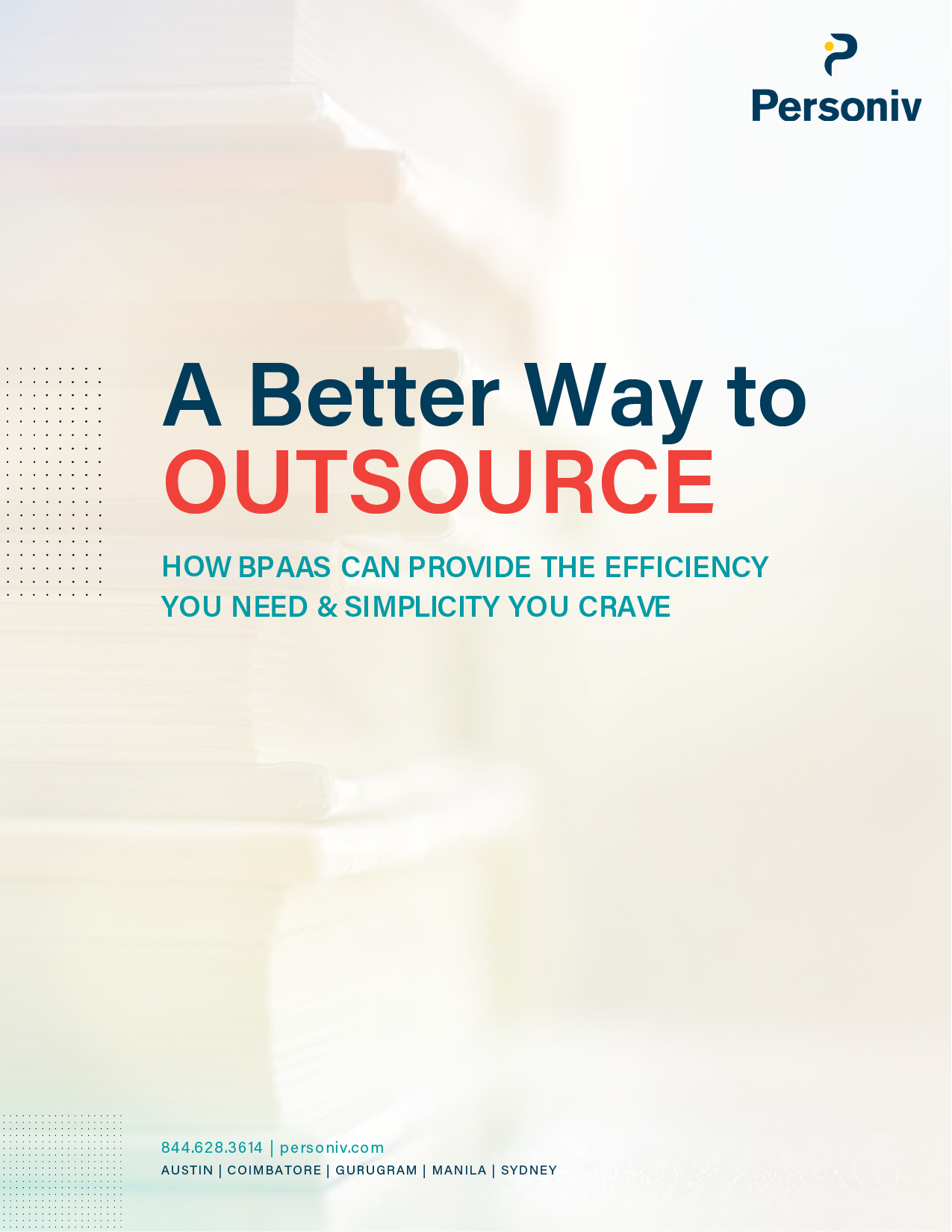 BPAAS - A Better Way to Outsource - White Paper