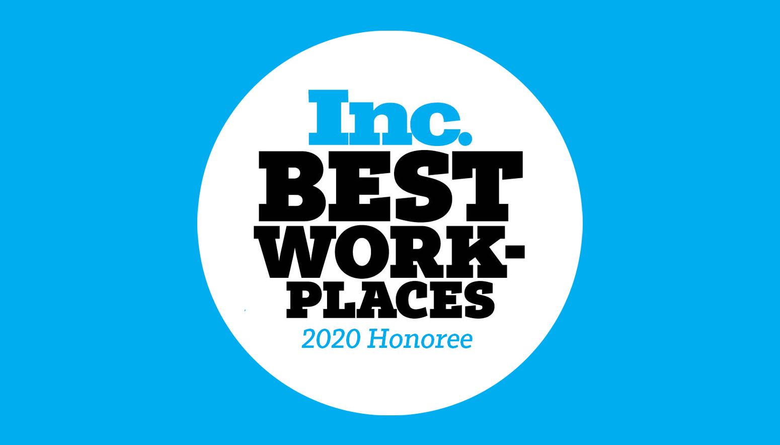 Inc. best workplace of 2020