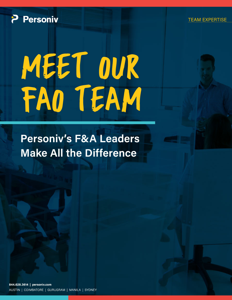 Meet Our Finance & Accounting Outsourcing Services Team