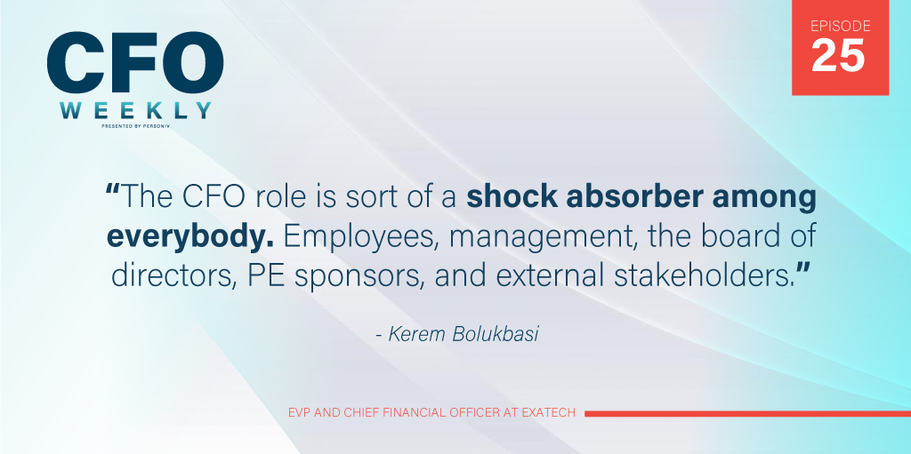 Kerem Bolukbasim Private equity CFO