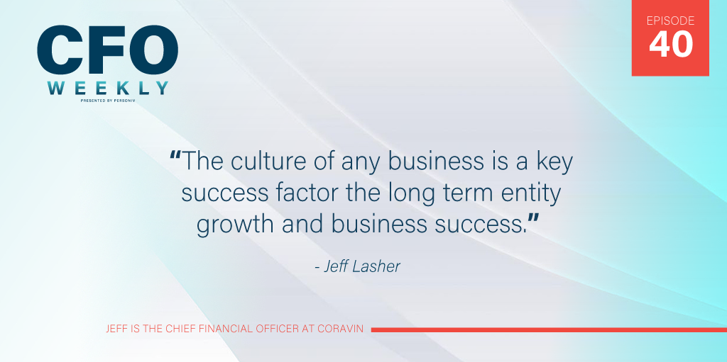 business culture is a key success factor for every cfo changing roles