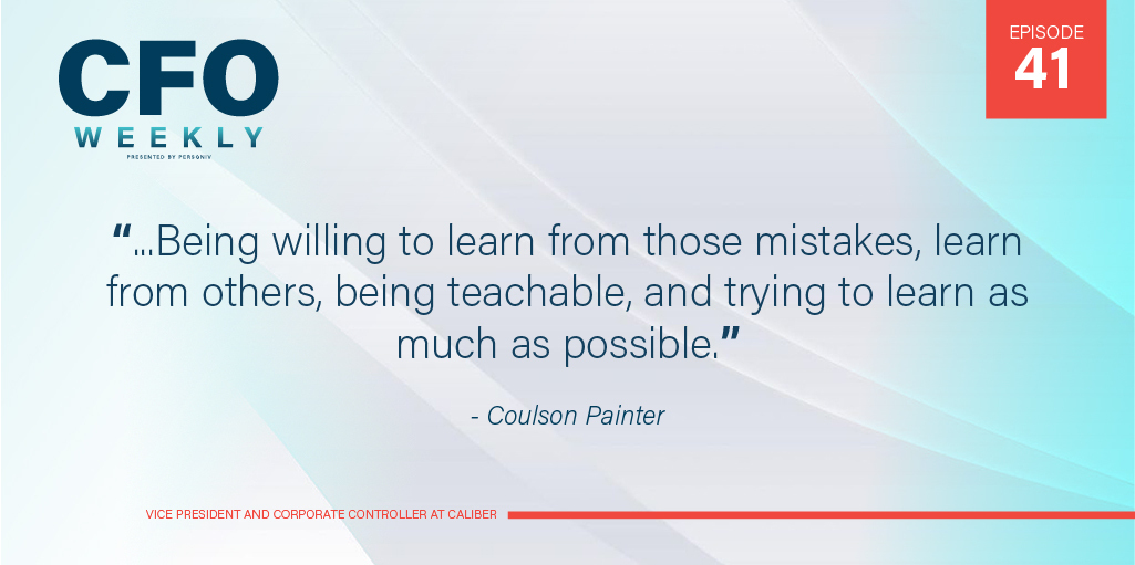 coulson painter quote advice to new controllers