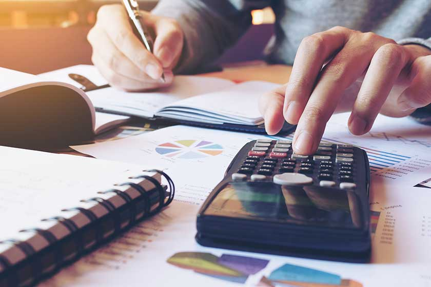 accountant cutting costs in business after watching video