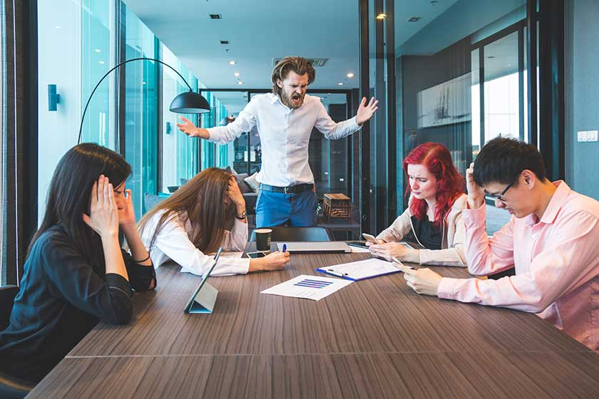 accountants stressed out because of high turnover in the department