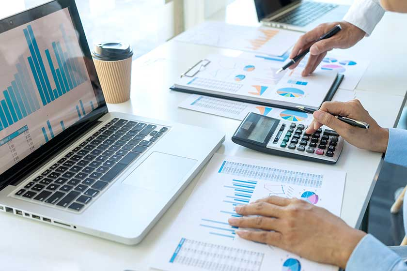 accountants who put profit first working on cost cutting plan
