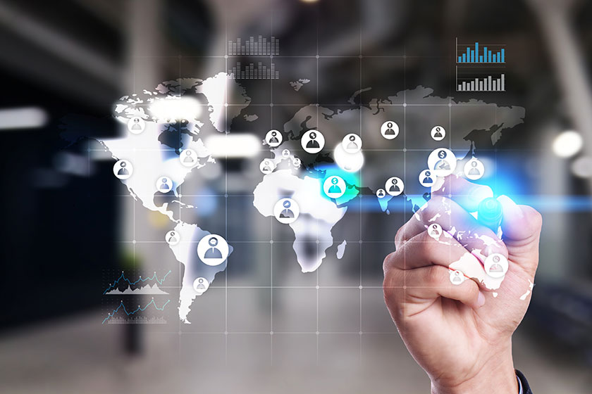 background image about how to start outsourcing effectively globally