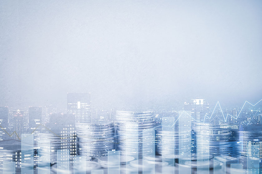 corporate finance background image