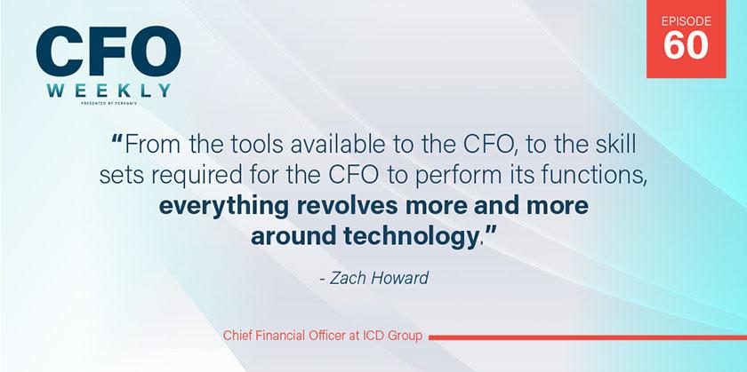 Zach Howard, Modern CFO at ICD Group