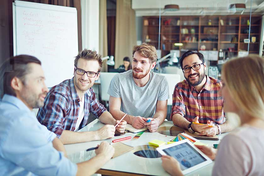 using outsourcing teams to compete with large companies