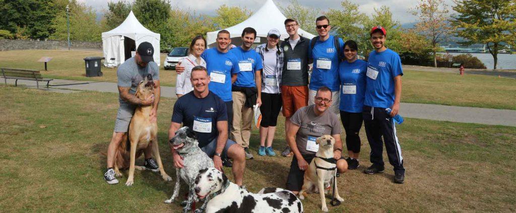Copperleaf's RAD Initiative Walks for Puppies