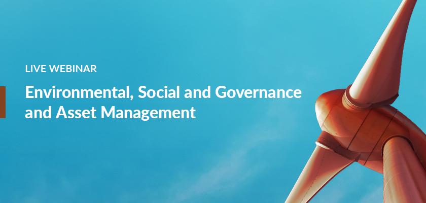 Webinar: Environmental, Social, and Governance (ESG) and Asset Management | ESG | Copperleaf