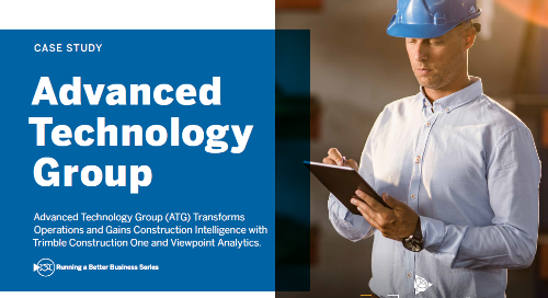 ATG Modernizes Operations with Trimble Construction One, Viewpoint Analytics