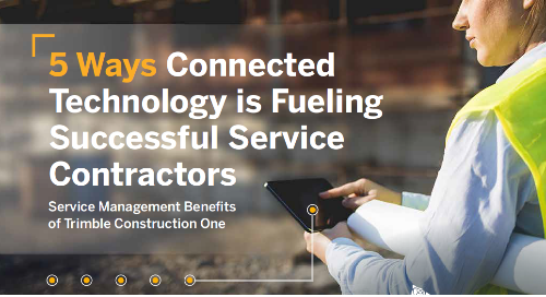 5 Ways Connected Technology is Fueling Successful Service Contractors