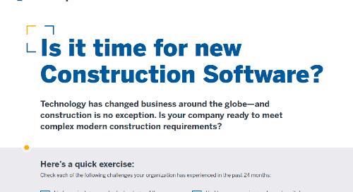 Construction Software Checklist
