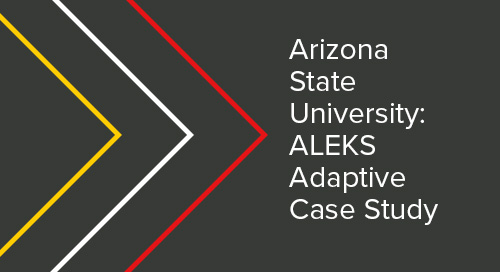 ASU ALEKS Adaptive Case Study