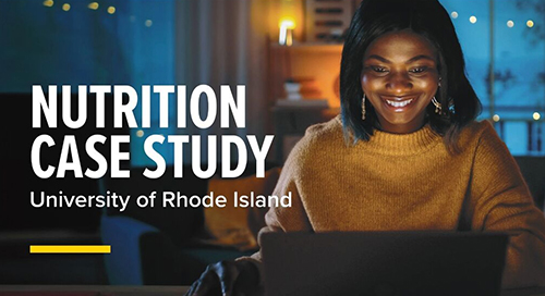 Nutrition & Food Sciences at the University of Rhode Island