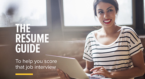 The Resume Guide You Need