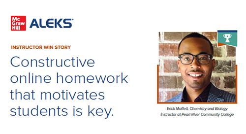 ALEKS® Chemistry Motivates Students While Improving Homework Grades
