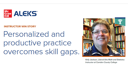 ALEKS® Adaptive Learning Technology Helps Students Optimize Learning and Improve Grades