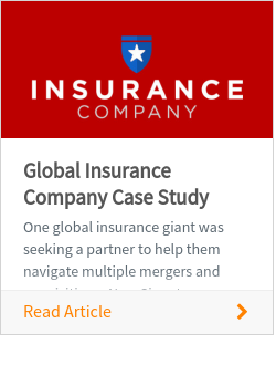 Global Insurance Company Case Study