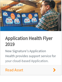 Application Health Flyer 2019