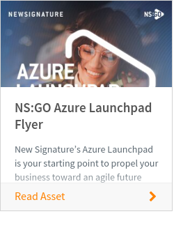 NS:GO Azure Launchpad Flyer