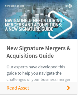 New Signature Mergers & Acquisitions Guide