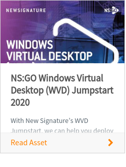 NS:GO Windows Virtual Desktop (WVD) Jumpstart 2020