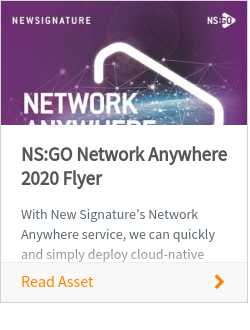 NS:GO Network Anywhere 2020 Flyer