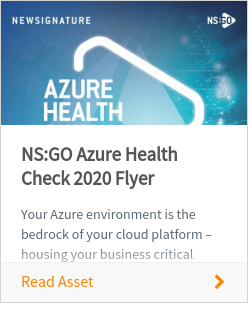 NS:GO Azure Health Check 2020 Flyer