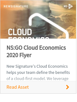 NS:GO Cloud Economics 2020 Flyer